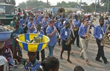 Deutsch-kongolesische Brass-Band