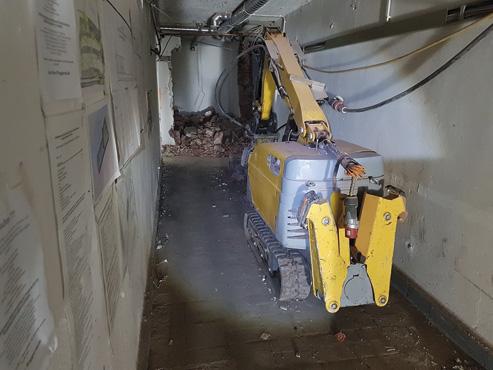 Bauarbeiten haben begonnen