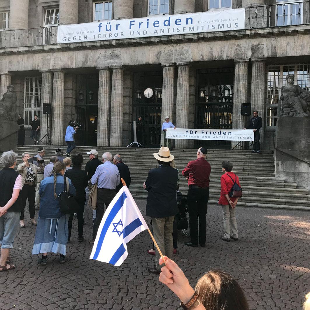 Wuppertal – Freundeskreis Beer Sheva – 70 Jahre Israel