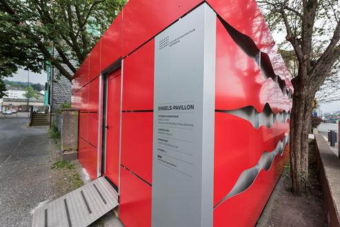 Engelspavillon wieder geöffnet