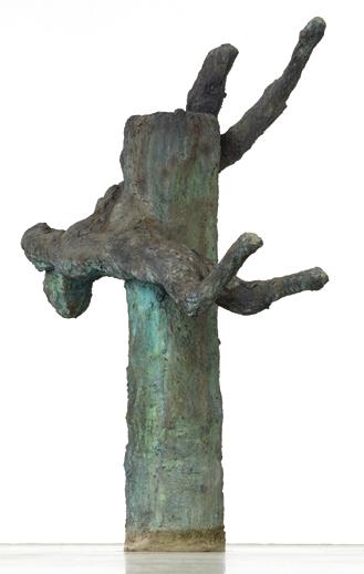 Lebensgroße Bronzeskulpturen