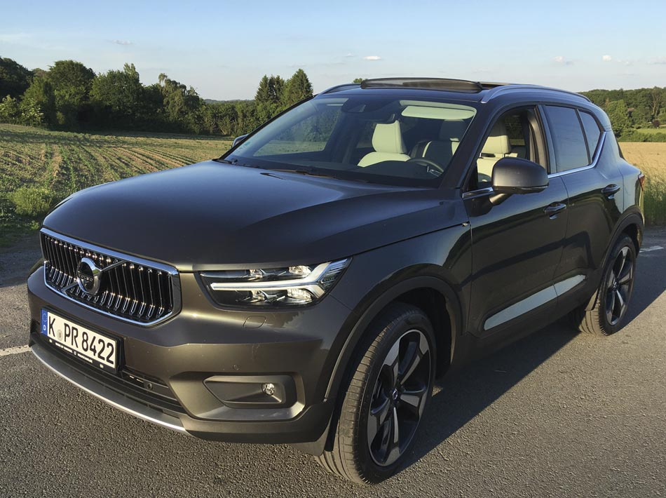 Autotest: Volvo XC40 T5 AWD Inscription