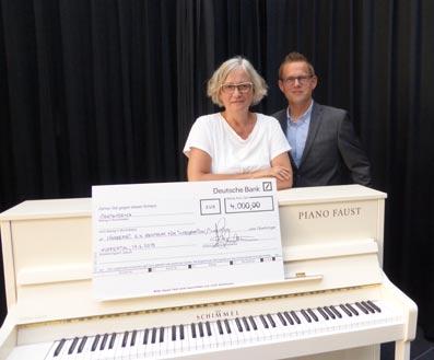 Klavier-Spende