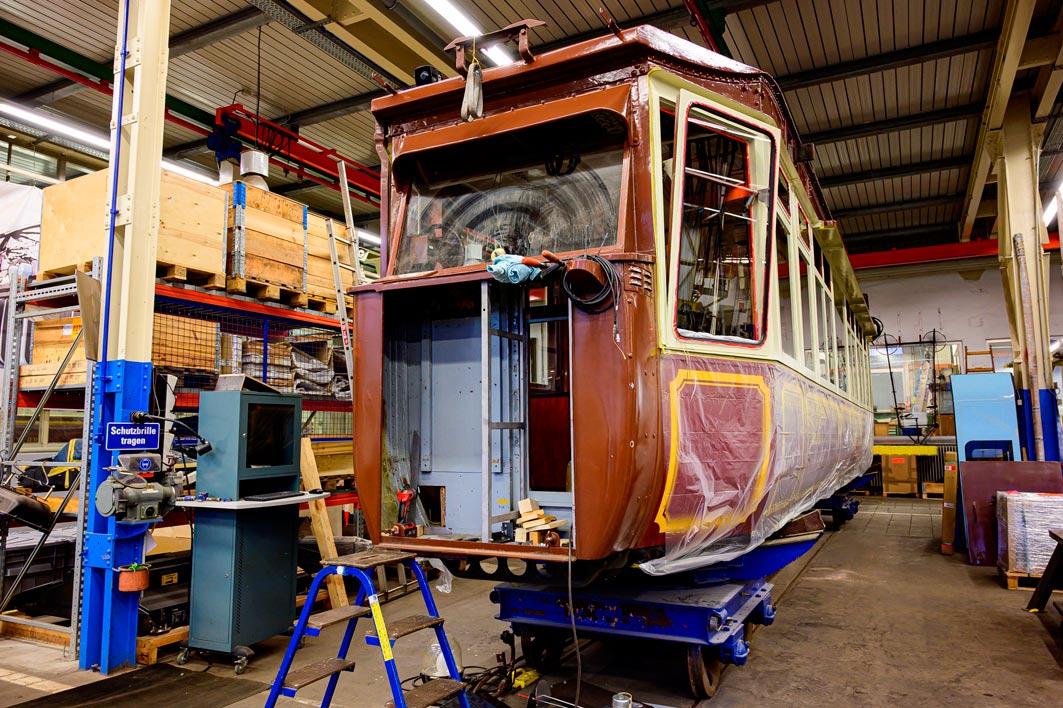 Wuppertal – Kaiserwagen-Sanierung