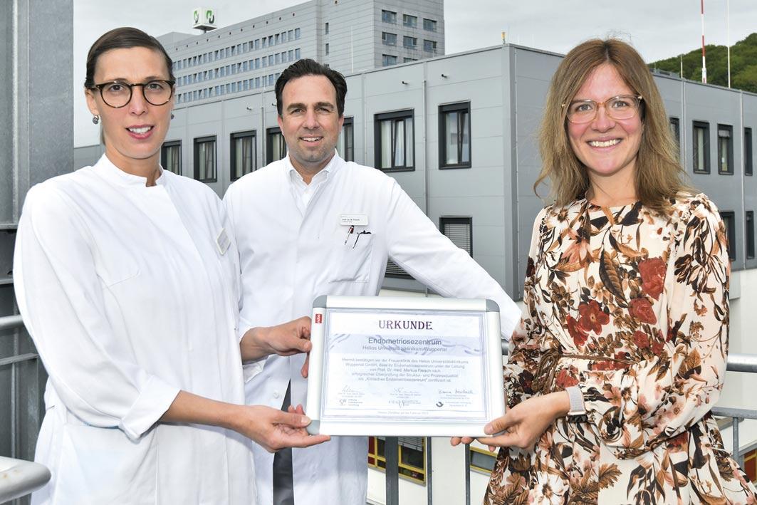 Wuppertal – Helios-Universitätsklinikum – Endometriose-Zentrum