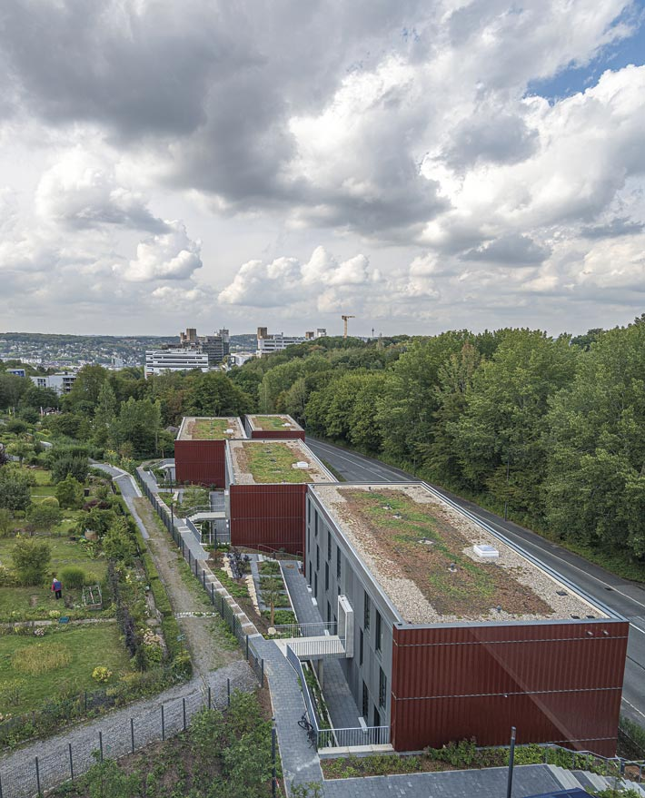 Wuppertal – Hochschul-Sozialwerk – Neubauten