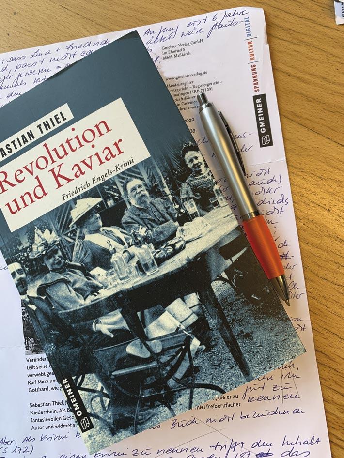 Literatur – Empfehlung – Engels-Krimi