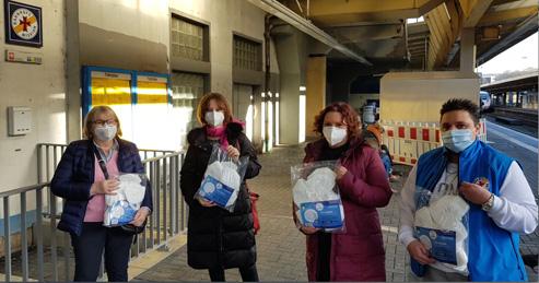 500 FFP2-Masken gespendet