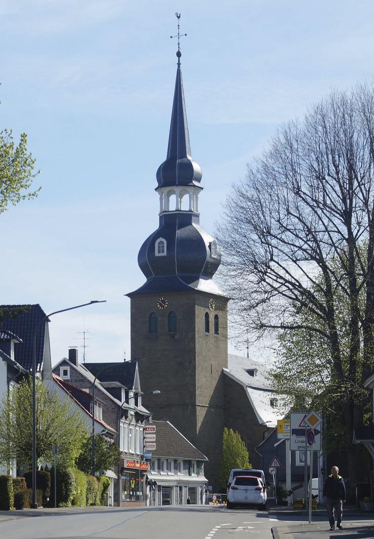 Wuppertal – Reformierte Kirche Cronenberg